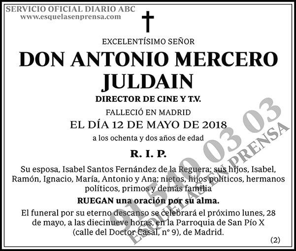 Antonio Mercero Juldain